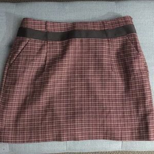 Mini Skirt With Pockets